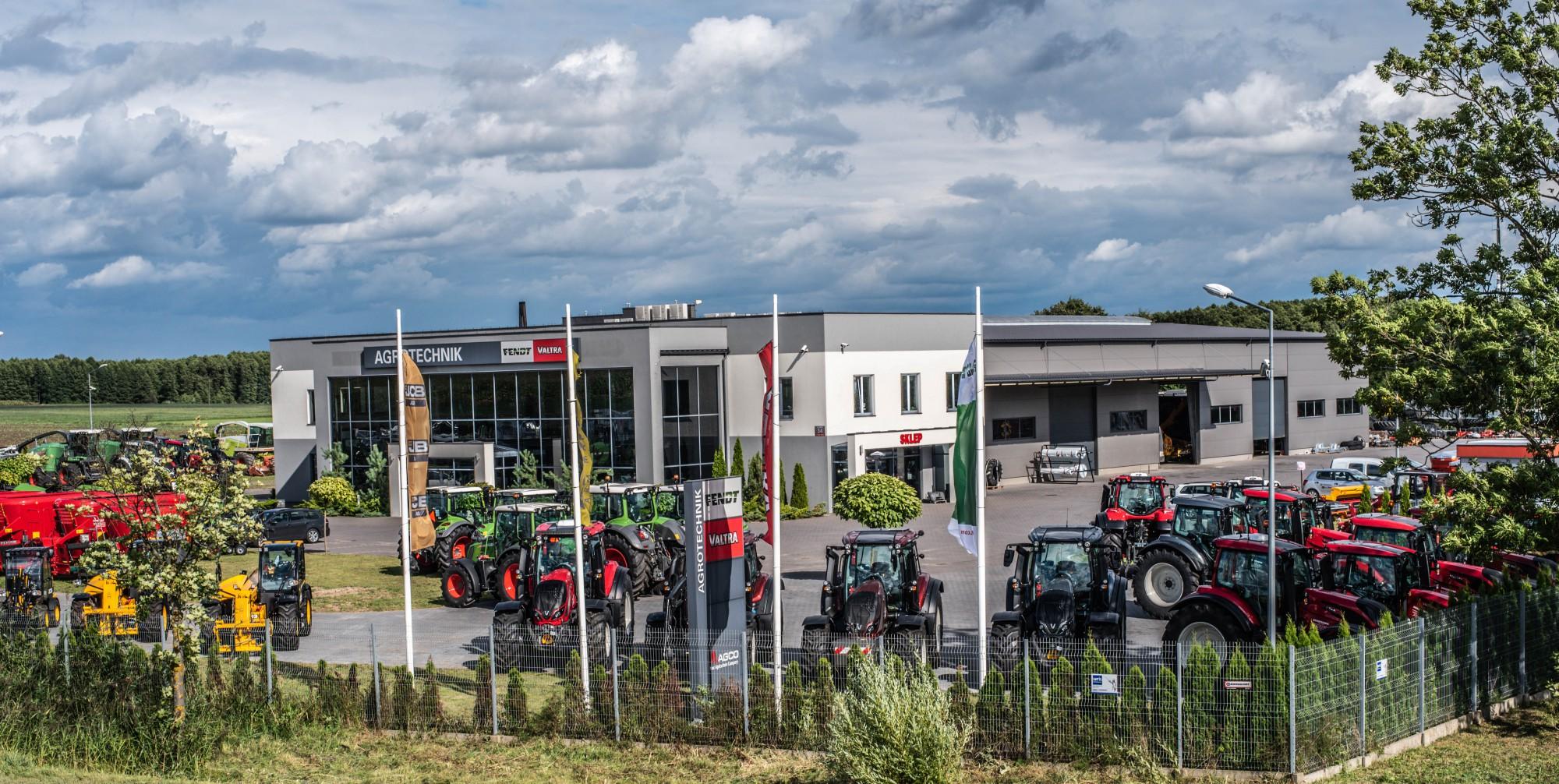 Agrotechnik maszyny rolnicze - siedziba firmy